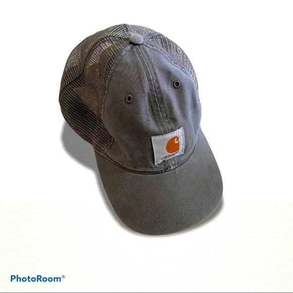 >sold< Carhartt Logo Baseball Mesh Hat